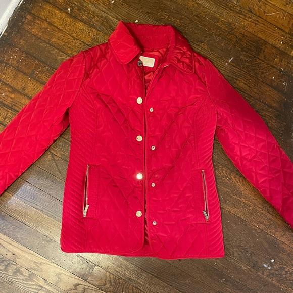 Red Michael Kors XS Jacket